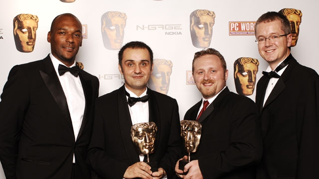 Tom Clancy's Ghost Recon Advanced Warfighter wins the Game category sponsored by PC World at the British Academy Games Awards in 2006.