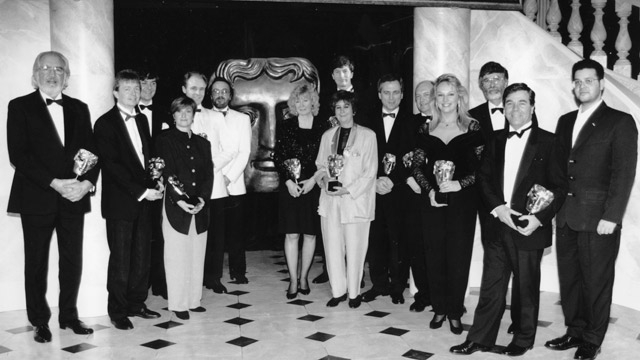 The winners at the British Academy Craft Awards in 1992