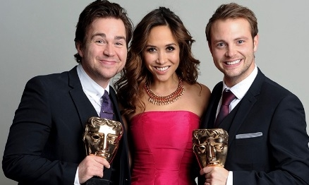 Sam, Myleene & Mark