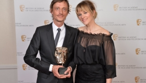 Mackenzie Crook and Edith Bowman