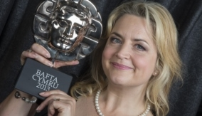 Ruth Jones - Winner at the BAFTA Cymru Awards 2013