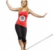 Blue Peter: Comic Relief Girl On Wire