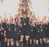 Rugby World Cup Final: New Zealand V Australia