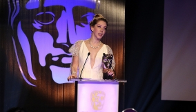 Katherine Ryan presents the award