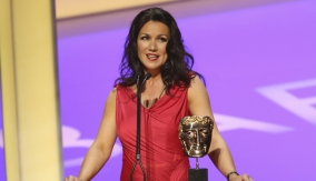 Susanna Reid presents the award