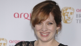 Katherine Parkinson backstage
