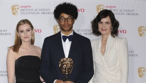 Richard Ayoade & the presenters