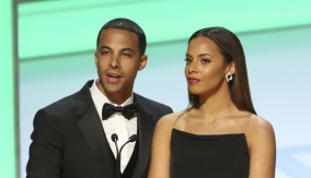 Presenters Marvin & Rochelle Humes