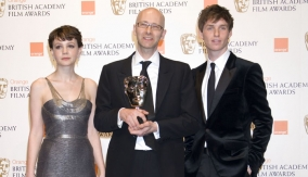 With Mulligan and Redmayne