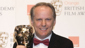 Nick Park in the Press Room