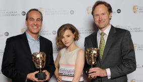 The winners with Chloë Moretz