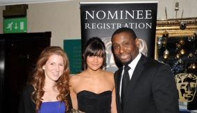 The winners with David Harewood