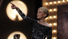 Carey Mulligan at the Podium