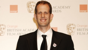 Pete Docter in the Press Room