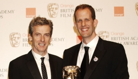 Peter Capaldi and Pete Docter