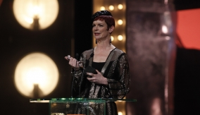 Sandy Powell at the Podium