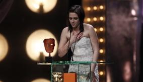 Kristen Stewart at the Podium