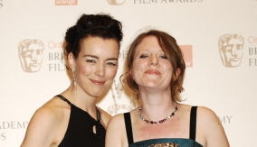 Olivia Williams and Lazenby