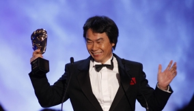 Miyamoto at the Podium