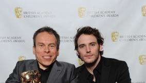 Davis & presenter Sam Claflin