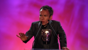 Warwick Davis at the Podium