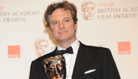 Colin Firth in the Press Room