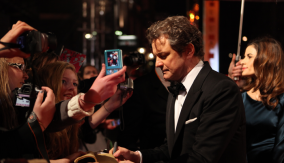 Colin Firth on the Red Carpet