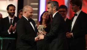 The Winners Receive the BAFTA