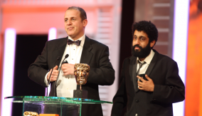 The Actors Accept the BAFTA