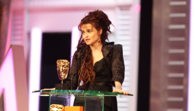 Helena Bonham Carter at the Podium