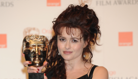 Helena Bonham Carter in the Press Room