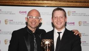 With presenter Jason Bradbury