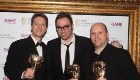 With presenter Danny Wallace