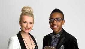Madovi & presenter Carley Stenson