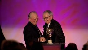 David Jason presents the award