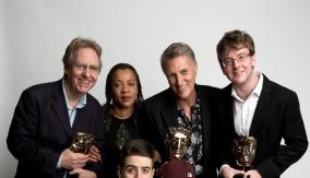 Winners & presenters in Press Room