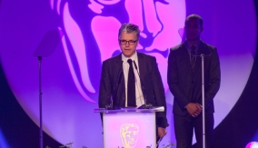 Alasdair Flint Collects the BAFTA