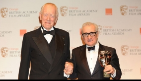 Max von Sydow and Scorsese