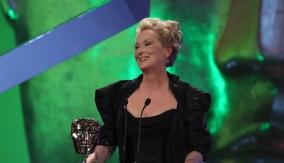 Meryl Streep at the podium