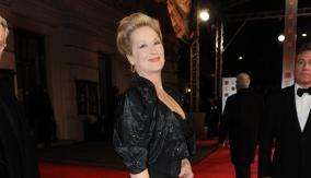 Meryl on the red carpet