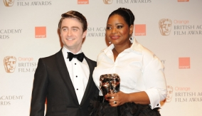 With Daniel Radcliffe