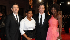 The Help team on the red carpet