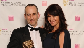 With presenter Suzi Perry