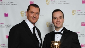 With presenter Craig Fairbrass
