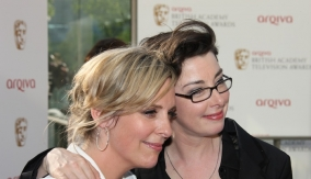 Mel & Sue on the Red Carpet