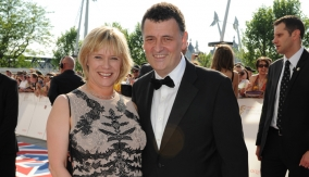 Moffat on the Red Carpet