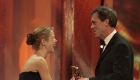 Hugh Laurie presents