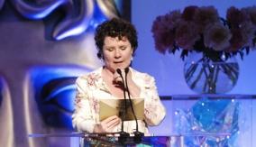 Presenter Imelda Staunton