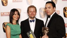 With presenter Jon Culshaw