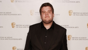 Presenter James Corden